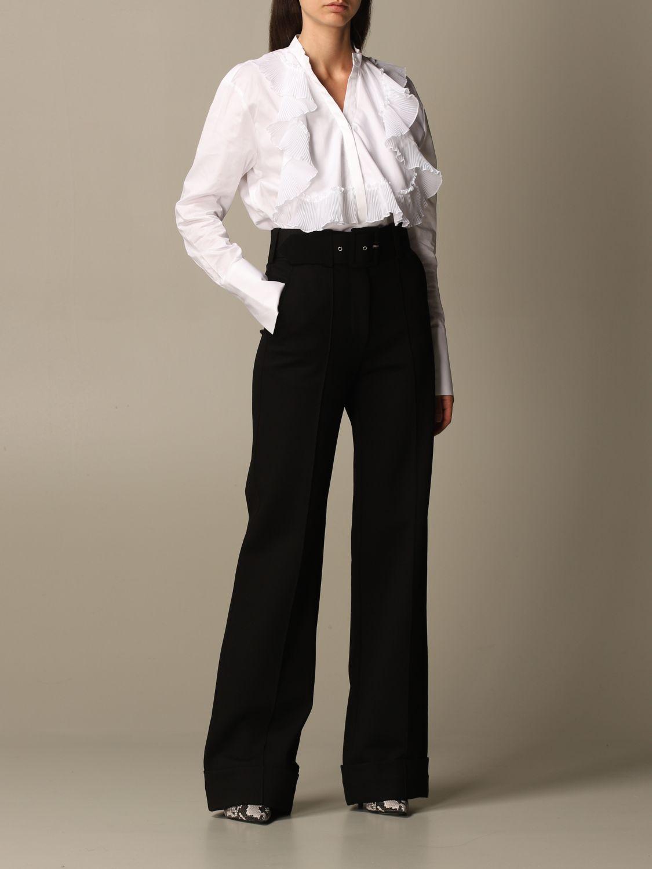 Chemise Victoria Victoria Beckham: Chemise femme Victoria Victoria Beckham blanc 2