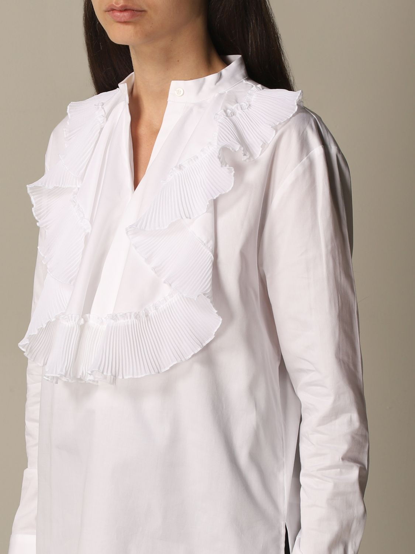 Chemise Victoria Victoria Beckham: Chemise femme Victoria Victoria Beckham blanc 4