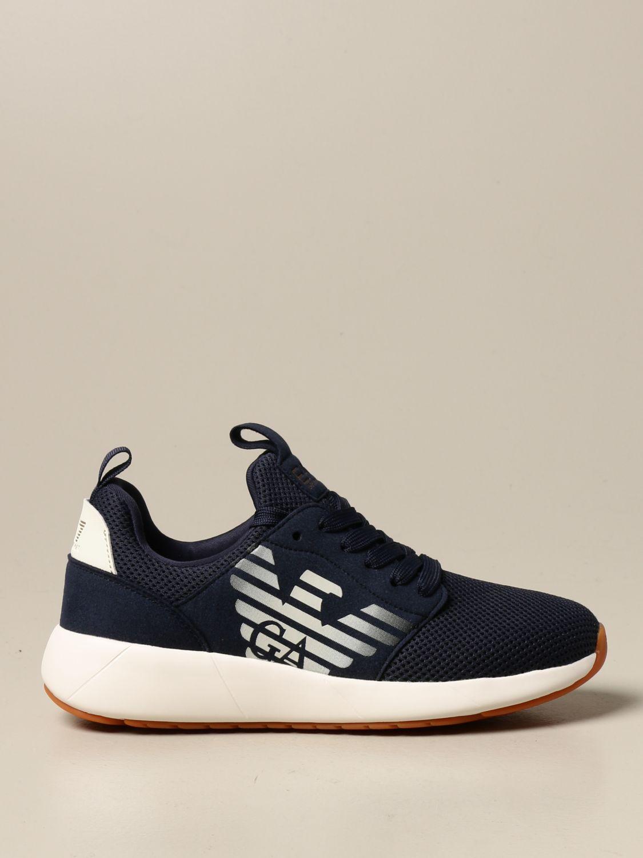 Chaussures Ea7: Chaussures enfant Emporio Armani bleu 1