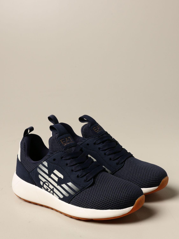 Chaussures Ea7: Chaussures enfant Emporio Armani bleu 2