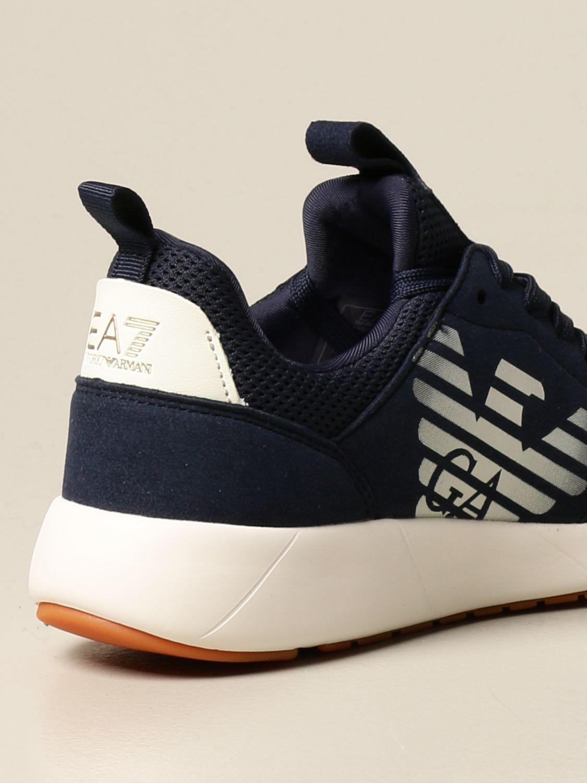 Chaussures Ea7: Chaussures enfant Emporio Armani bleu 3