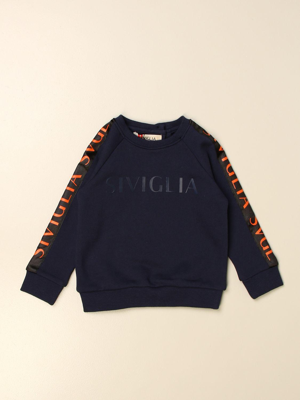 毛衣 Siviglia: 毛衣 儿童 Siviglia 蓝色 1