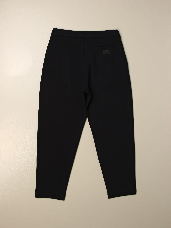 Pantalón Emporio Armani: Pantalón niños Emporio Armani azul oscuro 2