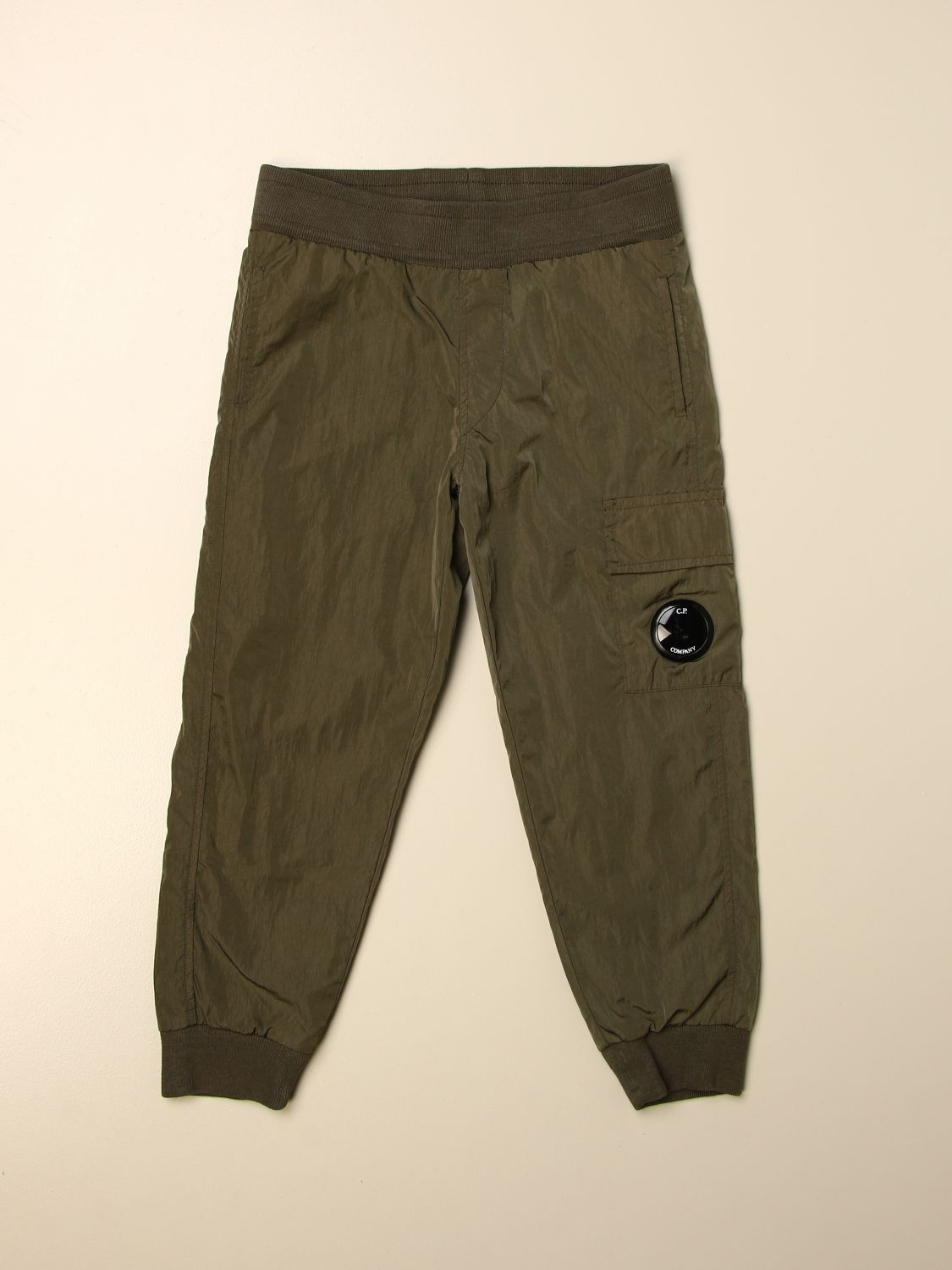 Trousers C.p. Company: Trousers kids C.p. Company green 1