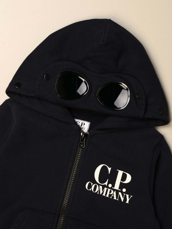 Jersey C.p. Company: Jersey niños C.p. Company azul oscuro 3