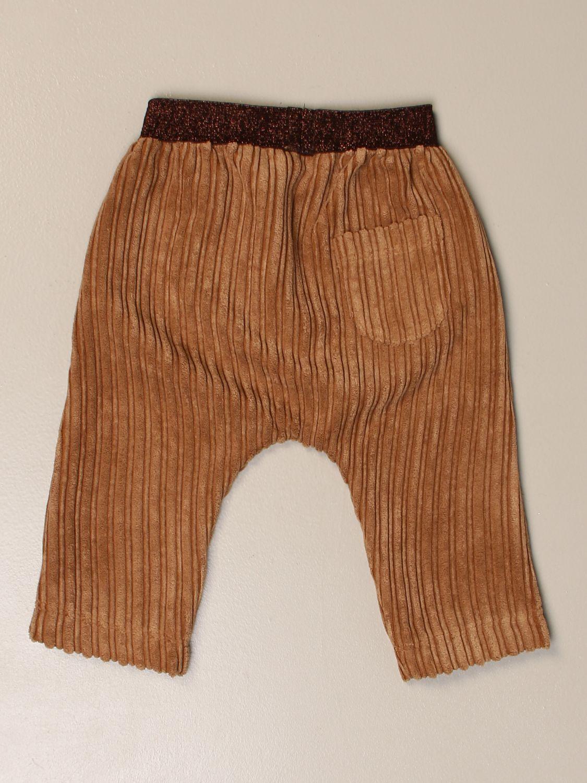 Pantalón Caffe' D'orzo: Pantalón niños Caffe' D'orzo marrón 2