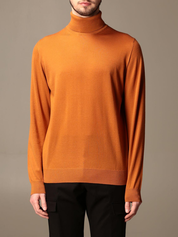 Sweater Alpha Studio: Alpha Studio basic turtleneck rust 1