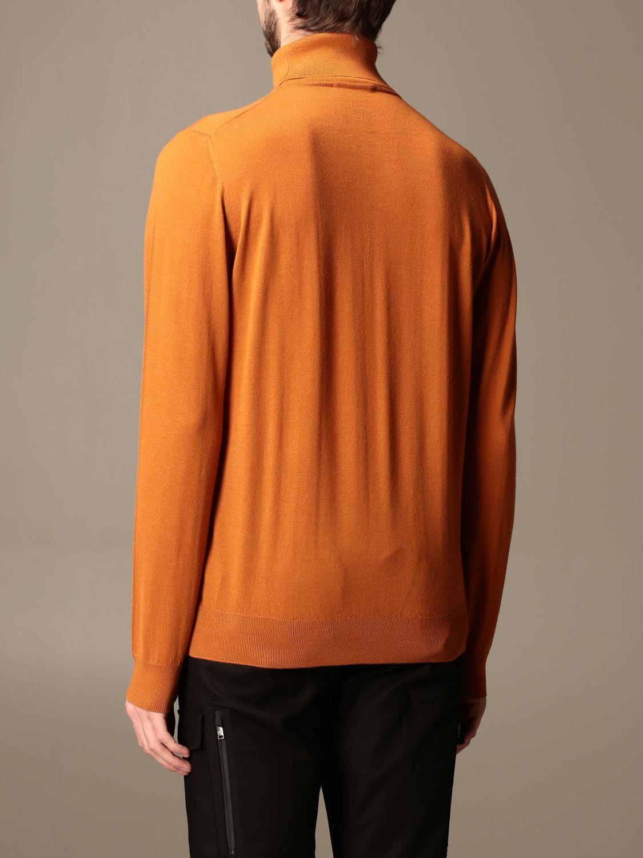 Sweater Alpha Studio: Alpha Studio basic turtleneck rust 2
