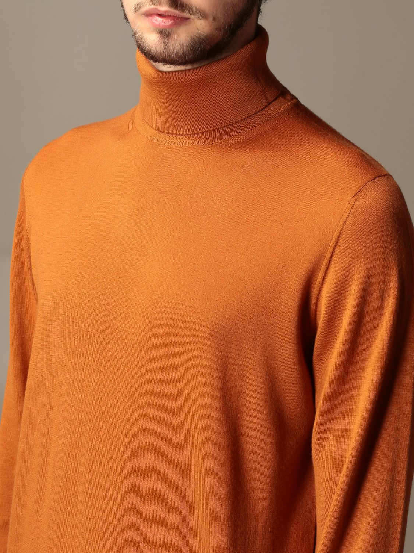 Sweater Alpha Studio: Alpha Studio basic turtleneck rust 3