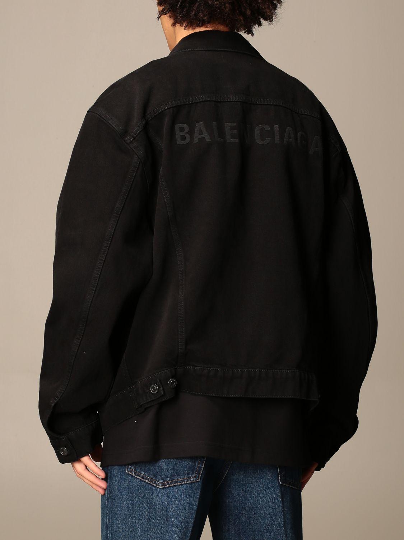 Jacket Balenciaga: Jacket men Balenciaga black 3