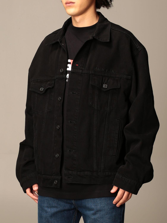 Jacket Balenciaga: Jacket men Balenciaga black 4