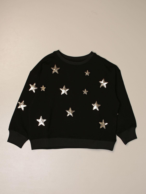 Sweater Marc Ellis: Marc Ellis crewneck sweater with all over stars black 1