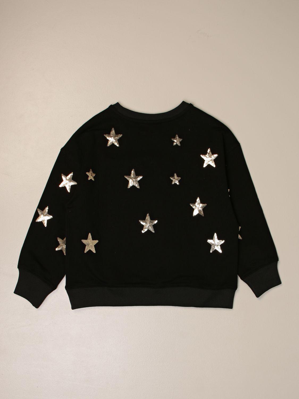 Sweater Marc Ellis: Marc Ellis crewneck sweater with all over stars black 2