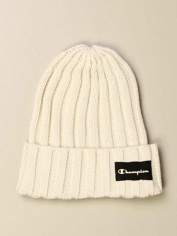 Hat girl Champion: Hat kids Champion white 2