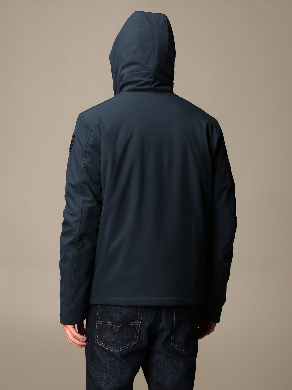 Jacket Blauer: Blauer jacket with hood and logo blue 2