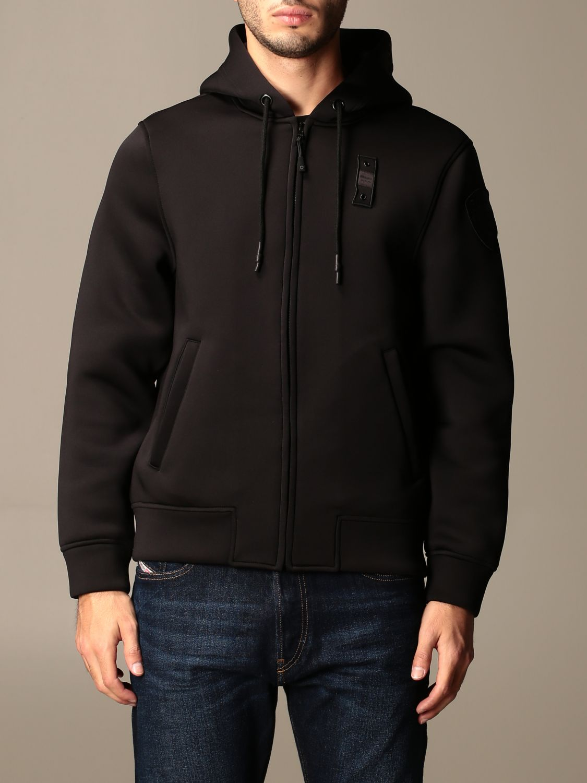 Sweatshirt Blauer: Jumper men Blauer black 1