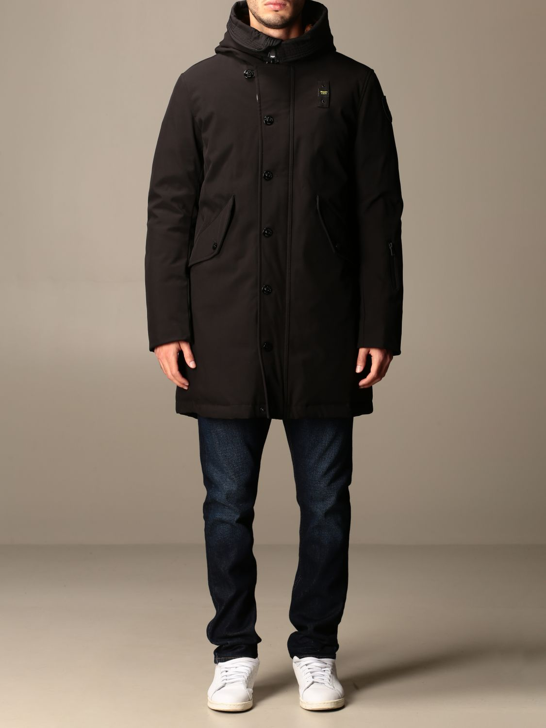 Jacket Blauer: Coat men Blauer black 1
