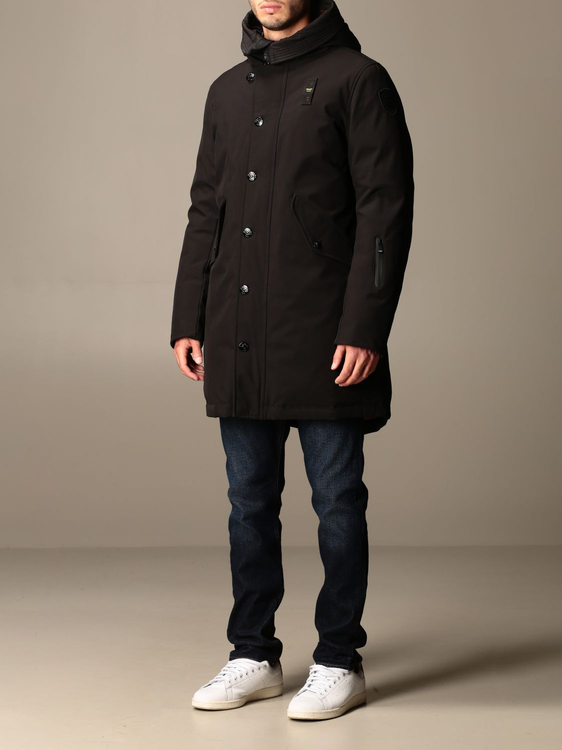 Jacket Blauer: Coat men Blauer black 3