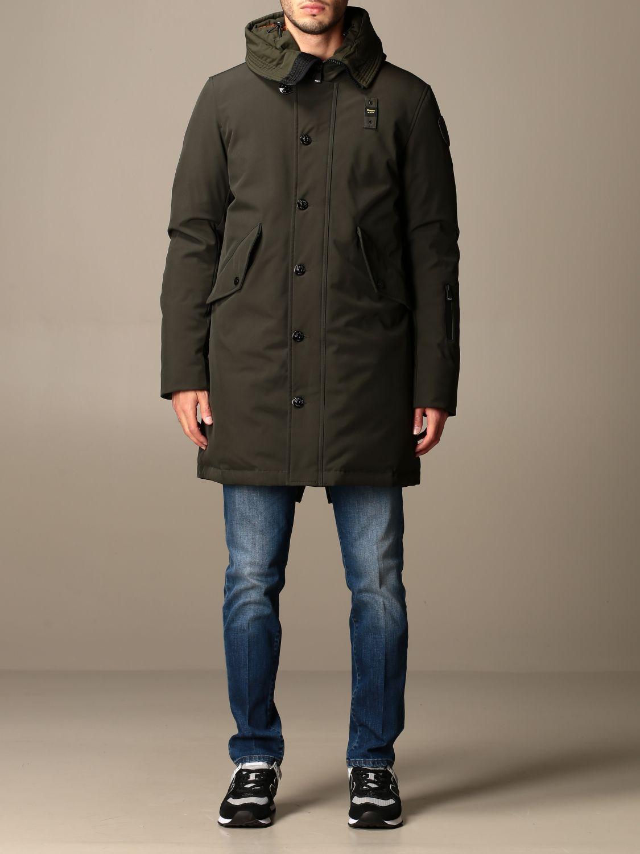 Куртка Blauer: Пальто Мужское Blauer зеленый 1