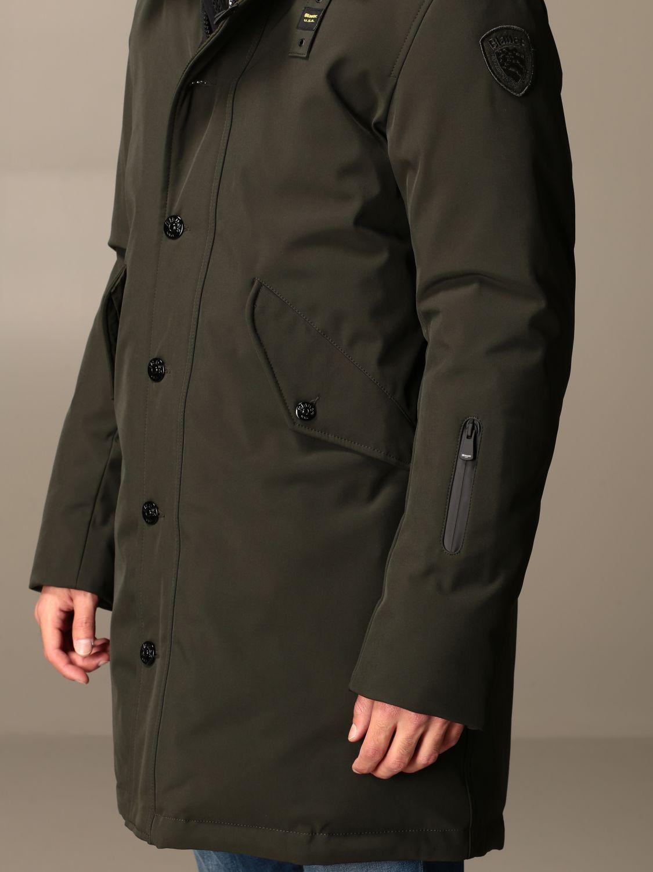 Куртка Blauer: Пальто Мужское Blauer зеленый 3