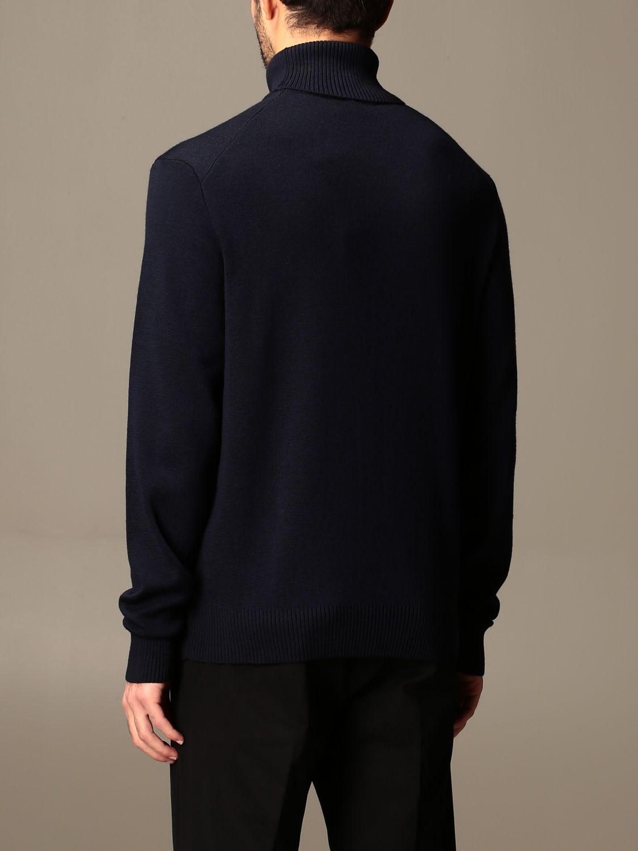 Sweater Ami Alexandre Mattiussi: Ami Alexandre Mattiussi turtleneck with logo navy 2