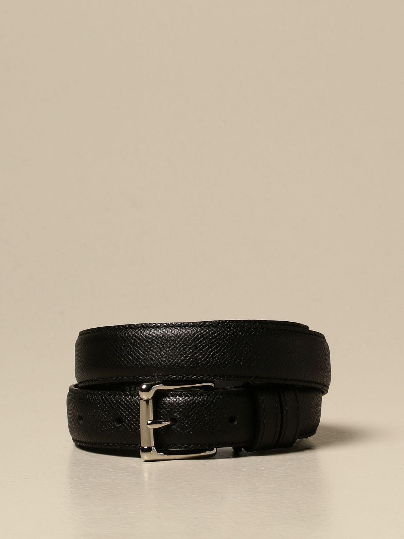 Belt Ami Alexandre Mattiussi: Belt men Ami Alexandre Mattiussi black 1