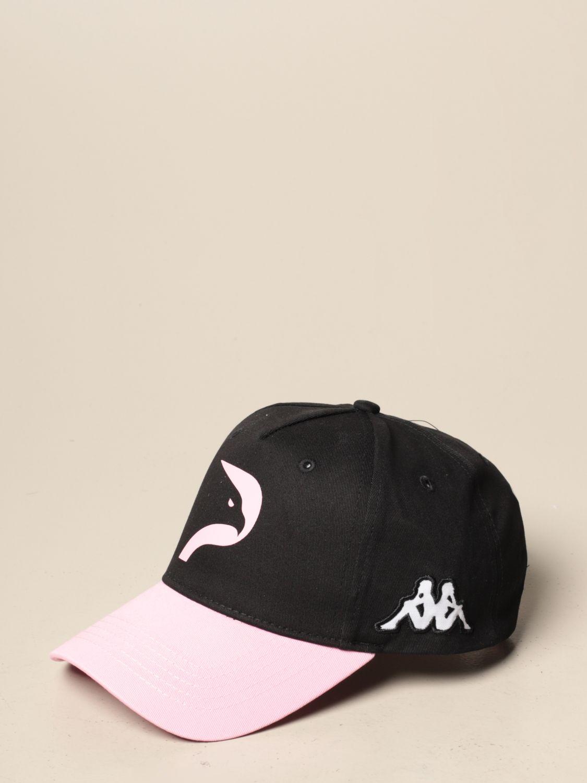 Cappello bambino Palermo: Cappello bambino kappa aritrat da baseball palermo in cotone nero 1