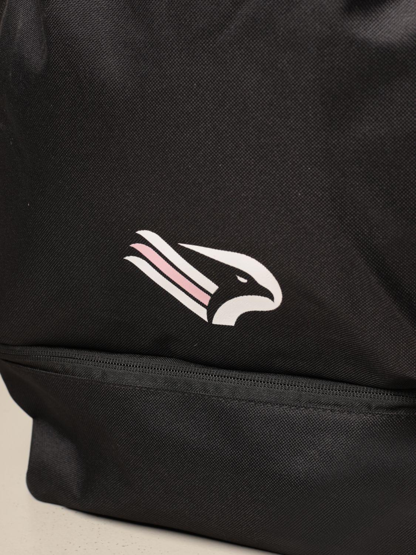 Zaino Palermo: Zaino back pack kappa palermo in tela tecnica con logo nero 3