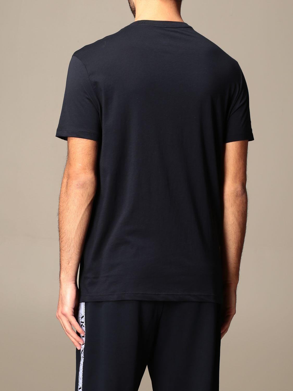 T-shirt Armani Exchange: Armani Exchange T-shirt with big logo navy 2