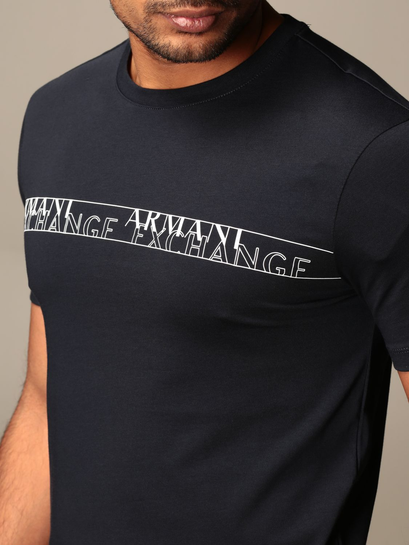 T-shirt Armani Exchange: T-shirt men Armani Exchange blue 4
