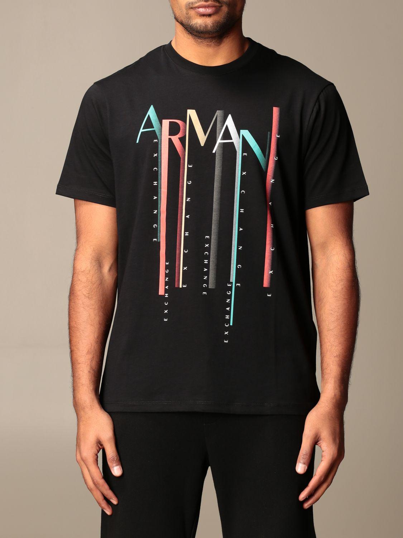 T-shirt Armani Exchange: T-shirt men Armani Exchange black 1
