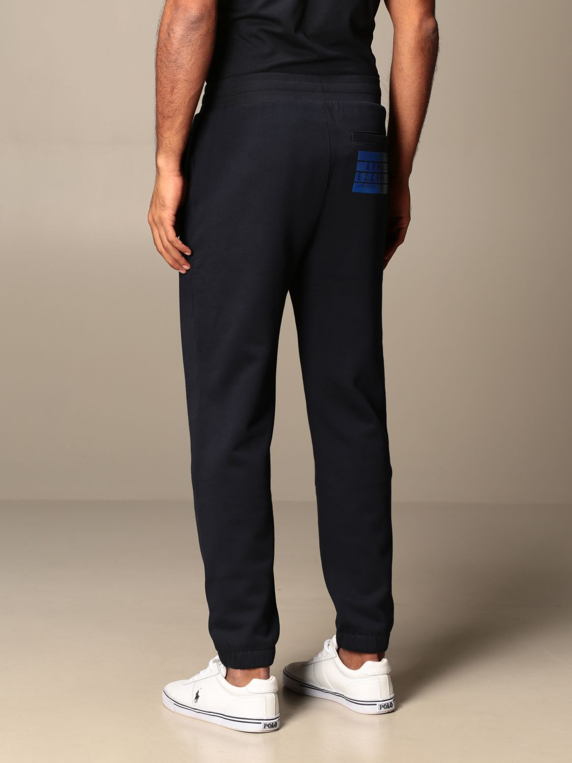 Trousers Armani Exchange: Trousers men Armani Exchange navy 2