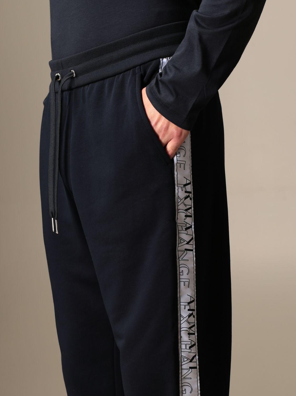 Pantalon Armani Exchange: Pantalon homme Armani Exchange bleu marine 3