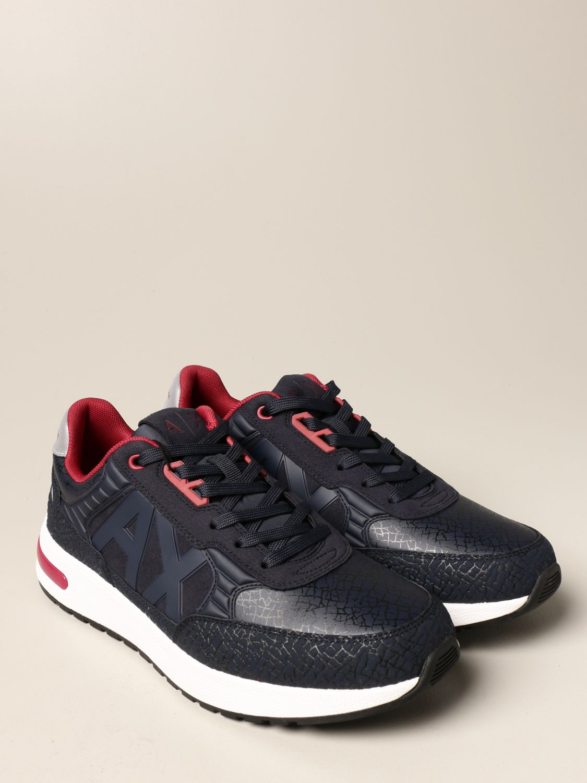 Sneakers Armani Exchange: Sneakers men Armani Exchange navy 2