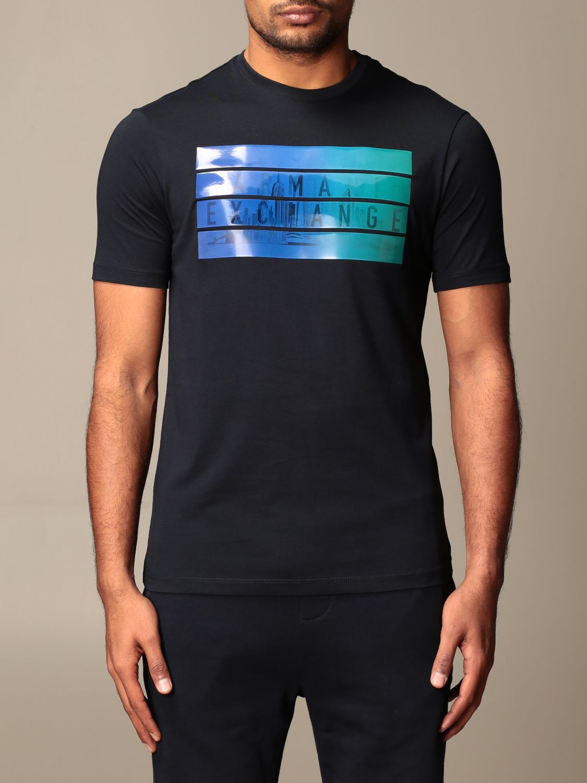T-shirt Armani Exchange: T-shirt men Armani Exchange navy 1
