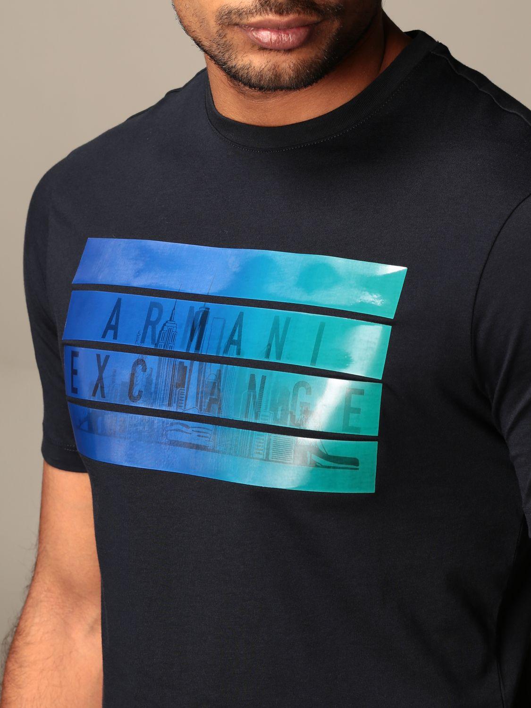 T-shirt Armani Exchange: T-shirt men Armani Exchange navy 3