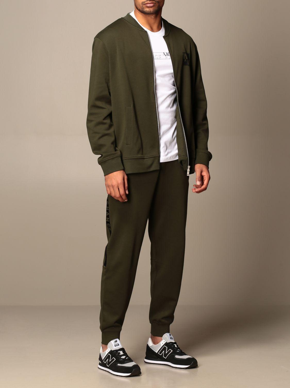 Sweatshirt Armani Exchange: Sweatshirt men Armani Exchange green 2