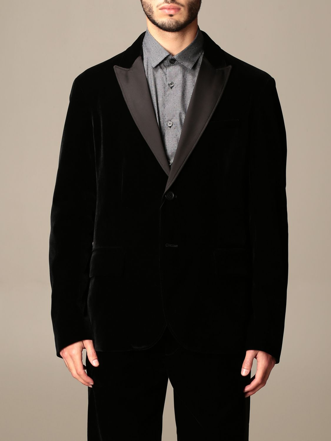 Blazer Armani Exchange: Jacket men Armani Exchange black 1