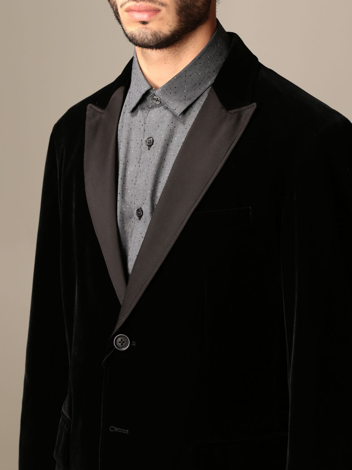 Blazer Armani Exchange: Jacket men Armani Exchange black 4