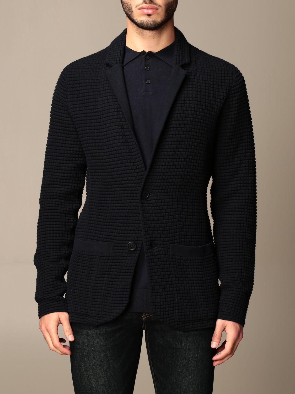 Blazer Armani Exchange: Jacket men Armani Exchange navy 1