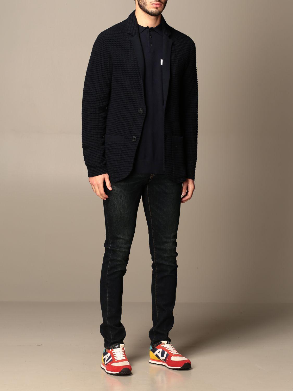 Blazer Armani Exchange: Jacket men Armani Exchange navy 2
