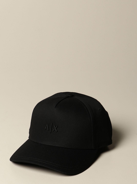 Chapeau Armani Exchange: Chapeau homme Armani Exchange noir 1