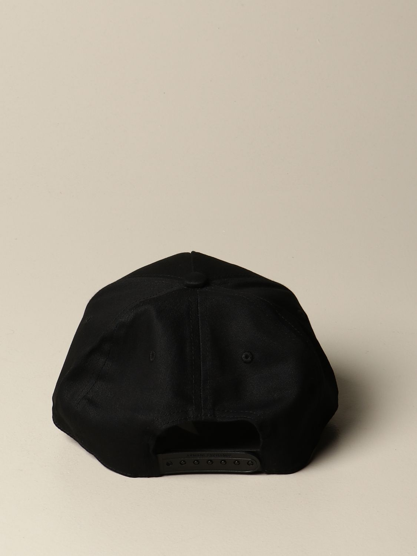 Chapeau Armani Exchange: Chapeau homme Armani Exchange noir 3