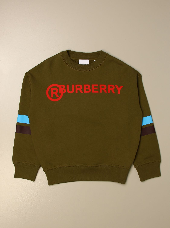 Jersey Burberry: Jersey niños Burberry verde 1