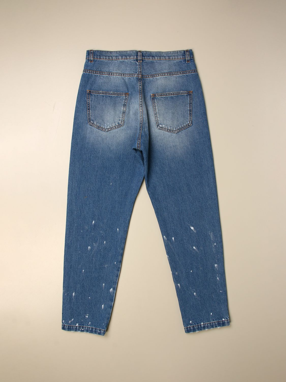 Pantalón Balmain: Pantalón niños Balmain azul oscuro 2