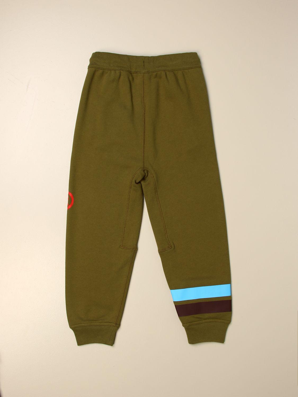 Pantalón Burberry: Pantalón niños Burberry verde 2