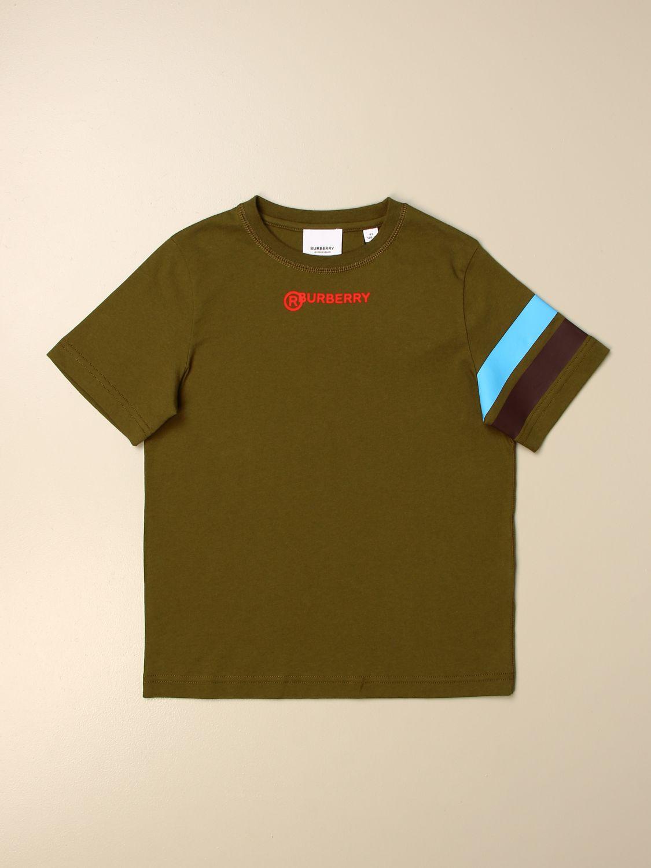 Camiseta Burberry: Camiseta niños Burberry verde 1