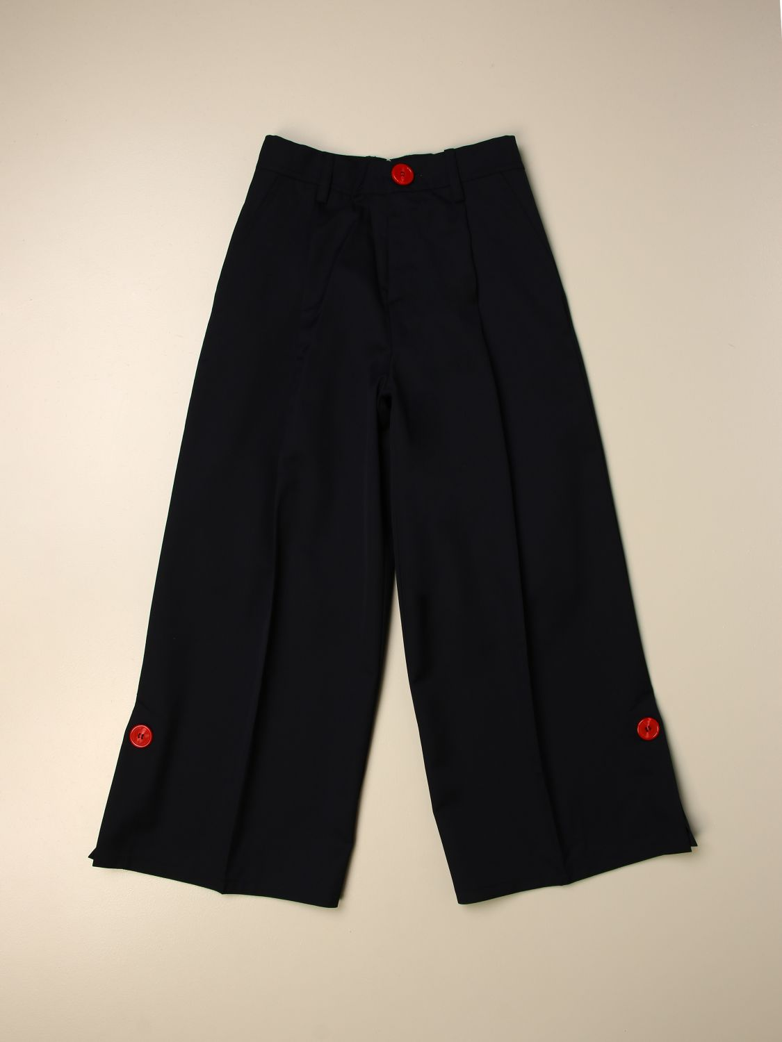 Pants Marni: Pants kids Marni navy 1