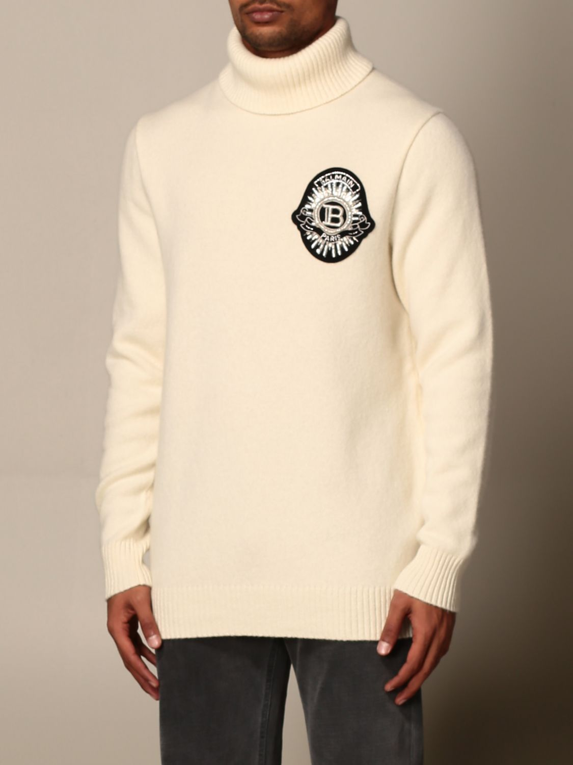 Jumper Balmain: Jumper men Balmain white 3