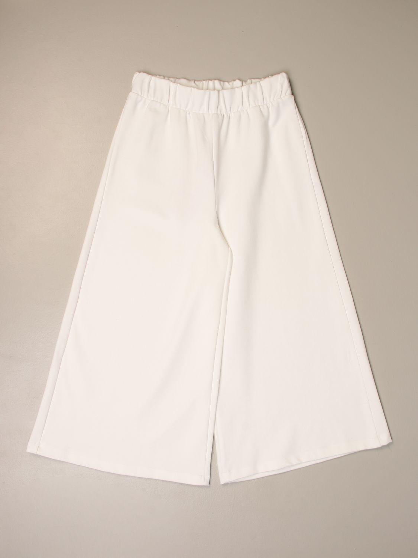 Pantalon Mariuccia Milano: Pantalon enfant Mariuccia Milano blanc 1